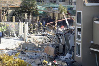 FOTOS  Escape de gas provocó fuerte explosión en pleno centro de Quilpué