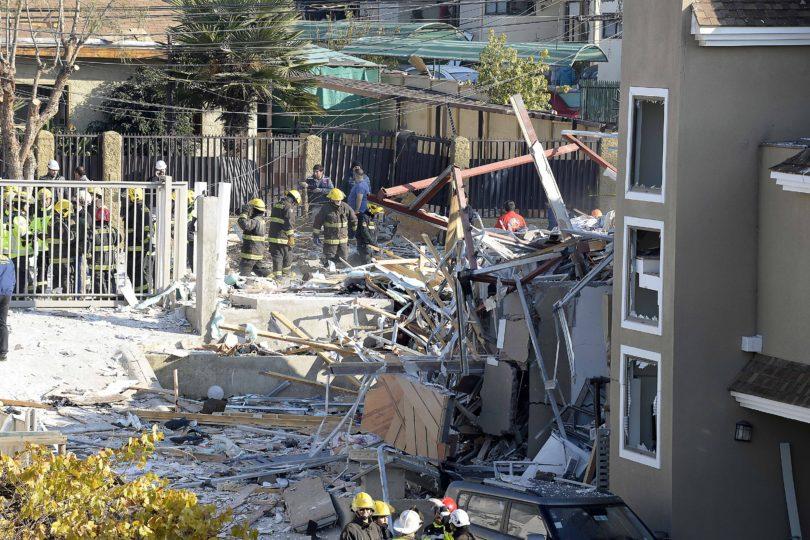 FOTOS |Escape de gas provocó fuerte explosión en pleno centro de Quilpué