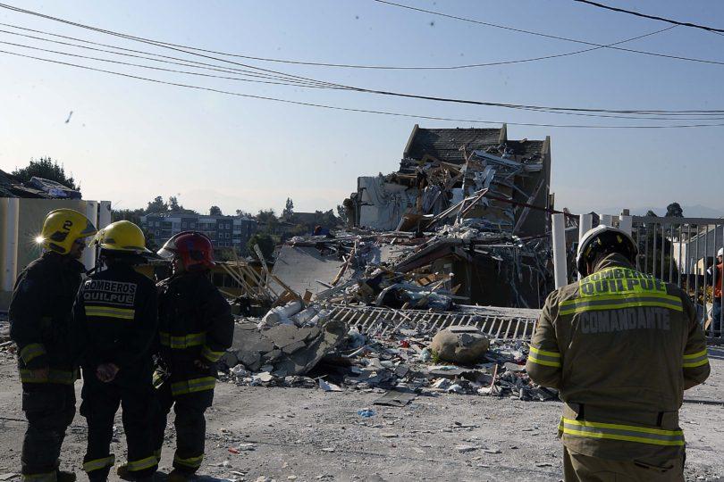 Revelan la causa de la explosión en condominio de Quilpué