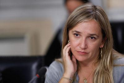 """Diputada Hoffmann al rescate del general Villalobos: """"Insistir en su renuncia es irresponsable"""""""