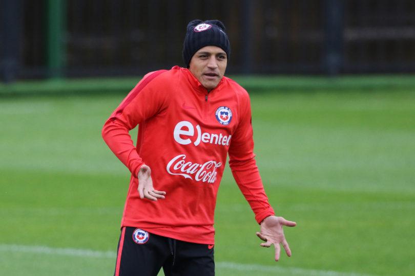 Alexis Sánchez quedó descartado para el debut de Chile en Copa Confederaciones