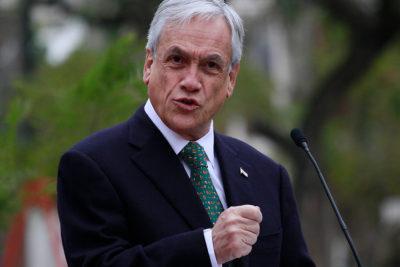 """Sebastián Piñera: """"Aleuy ha sido un muy mal subsecretario en el control de la delincuencia"""""""