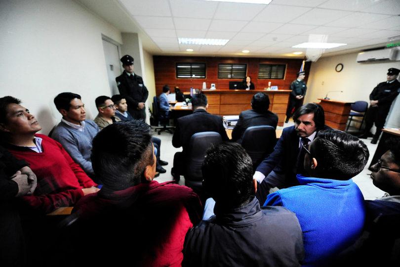 Tribunal ordena la expulsión de los nueve funcionarios bolivianos detenidos por contrabando