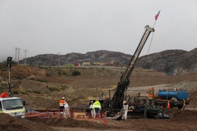 """Gobierno utiliza """"robot de la esperanza"""" para detectar a mineros de Aysén"""