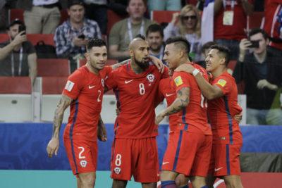 VIDEOS| Chile rescató un empate ante Australia y clasifica a semifinales de Copa Confederaciones