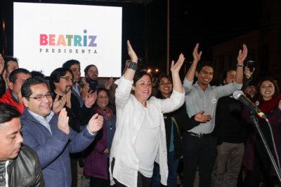 """Beatriz Sánchez a empresarios: """"Son los malos de la película porque siempre se oponen a los cambios"""""""