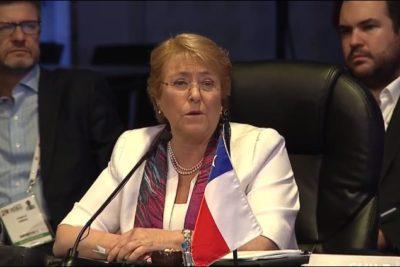"""Presidenta Bachelet ya palpita la final ante Alemania: """"La Roja va a dejar el alma en la cancha"""""""