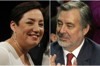 """Del """"nuevo Chile"""" al """"rumbo distinto"""": las dispares miradas de Sánchez y Guillier por discurso de Bachelet"""