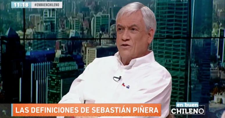 """""""Sebastián Piñera augura vuelco en caso de espionaje en la Sofofa:"""