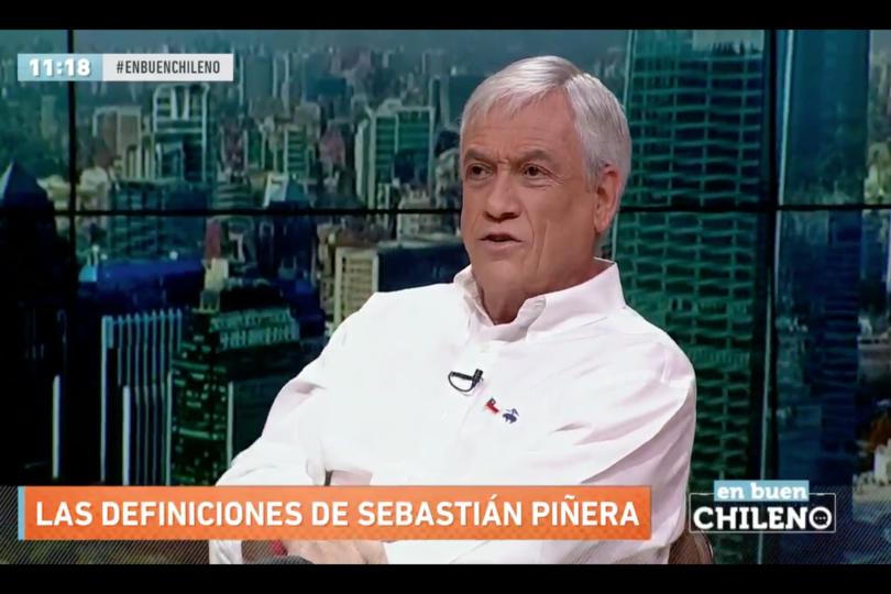 """Sebastián Piñera augura vuelco en caso de espionaje en la Sofofa: """"Tiene que ver con cosas de pareja"""""""