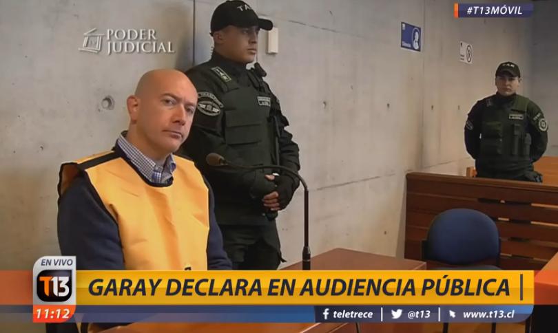 """""""Destruí toda mi vida profesional"""" y otras frases de Rafael Garay en su última declaración"""
