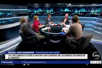 VIDEO | El momento exacto en que Paulsen deja en ridículo a Ossandón por el Acuerdo de Paris