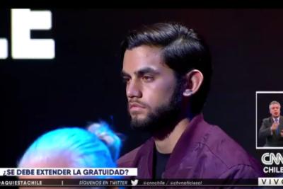 VIDEO | La respuesta de Felipe Kast a estudiante que le pidió en vivo que no le quitara la gratuidad