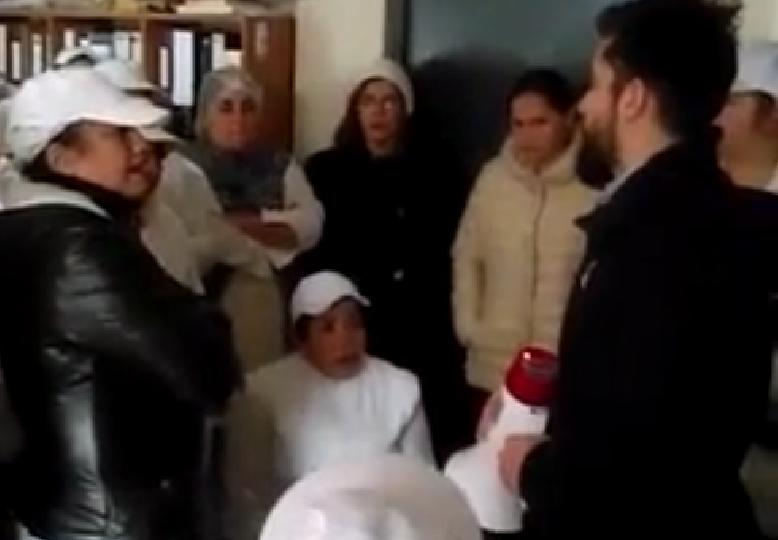 """Filtran video de hijo del dueño de Fruna con trabajadores: """"Vamos despedir si bajan ventas"""" por reportaje"""