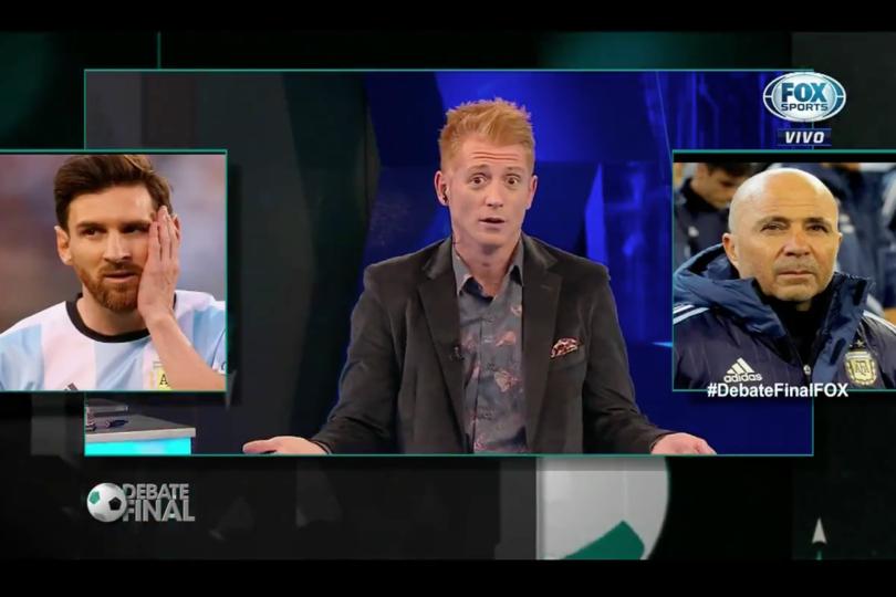Liberman no da tregua a Sampaoli pese a goleada y hace hervir a los argentinos (y azules)