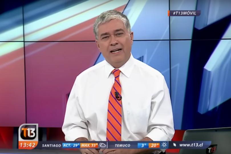 Los minutos más rudos de Iván Valenzuela contra Carabineros en plena transmisión de T13