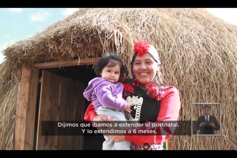 Ese nivel: dirigenta mapuche denunció que Piñera utilizó su imagen para franja electoral sin permiso