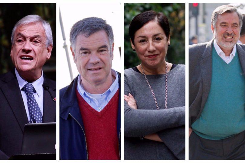CEP: Piñera amplía ventaja con Guillier y Sánchez pelea con Ossandón el tercer lugar