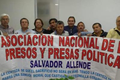Presos Políticos en dictadura se toman por tercera vez el Instituto Nacional de DD.HH.