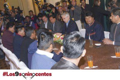 """Evo Morales desatado contra autoridades chilenas y las califica de """"cachorros del imperio"""""""