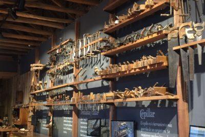 Con más de 700 herramientas, Museo-Taller reivindica la carpintería como oficio