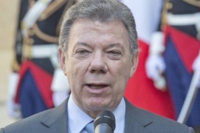 """El presidente Juan Manuel Santos anuncia: """"Hoy las FARC dejan de existir"""""""
