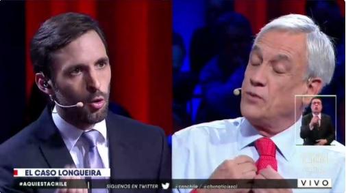 VIDEOS | Piñera defiende con uñas y dientes a Longueira y Wagner por sus vínculos con SQM y Penta