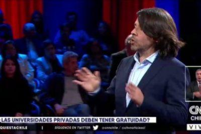 VIDEO | El duro mensaje de Alberto Mayol a la U. Católica si quiere acceder a la gratuidad