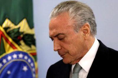 Caso Odebrecht: Policía de Brasil tiene en la mira a Michel Temer por presunto delito de corrupción