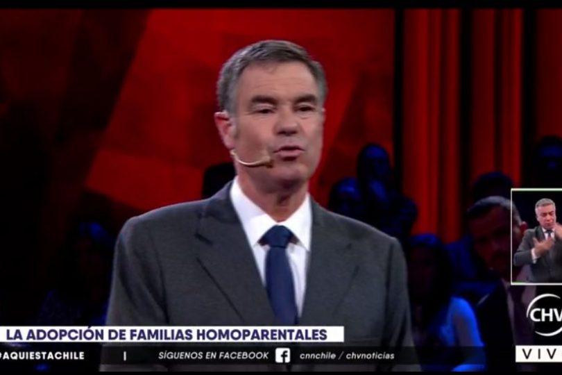 VIDEOS   La opinión de Manuel José Ossandón sobre la adopción de parejas homoparentales