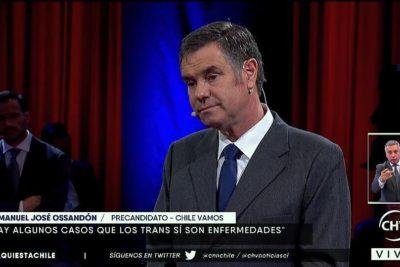 VIDEOS   El momento exacto cuando le derrumban todo el discurso transfóbico a Ossandón