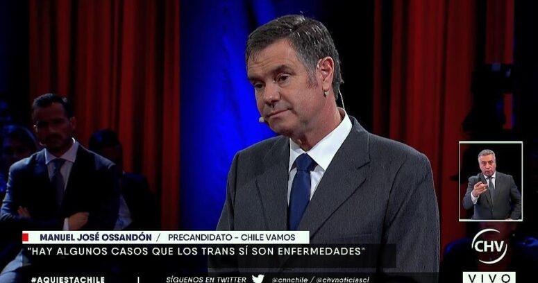 """""""VIDEOS   El momento exacto cuando le derrumban todo el discurso transfóbico a Ossandón"""""""