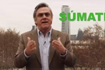 VIDEO | La campaña virtual de Pablo Longueira para que la gente participe de las primarias