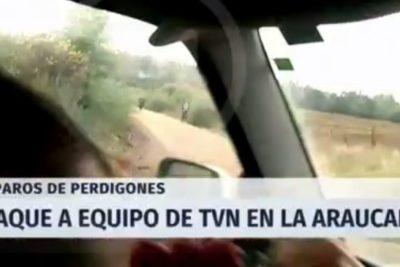 Fiscalía investigará como homicidio frustrado ataque a equipo de TVN en La Araucanía