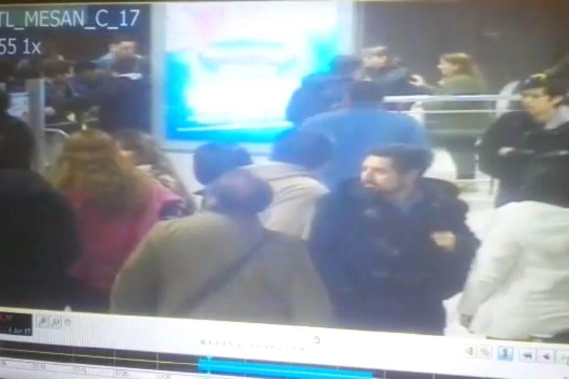 """""""Ojalá sientan vergüenza"""": aplaudidas palabras del hijo del guardia que intentaron linchar en el Metro"""