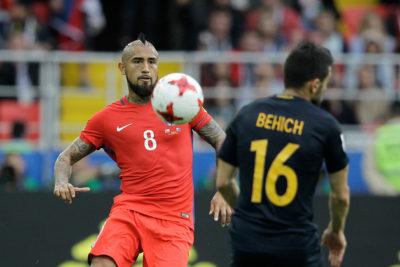 FOTO | El inesperado mensaje que envió la selección de Australia a la Roja a horas del duelo con Portugal