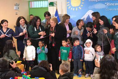 """Bachelet llamó a no desinformar sobre la Ley de Inclusión: """"Es falso que obligue a cerrar colegios"""""""