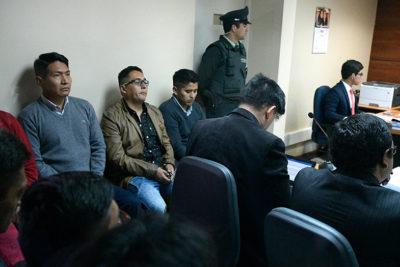 Caso bolivianos: Fiscalía pide que sean declarados culpables y paguen multa de $32 millones