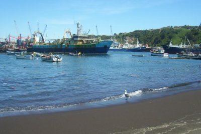 Antigua caleta de Talcahuano mejora sus instalaciones para sus pescadores