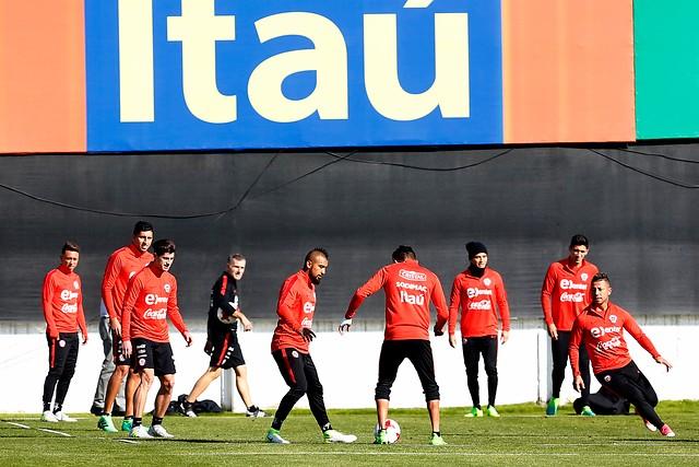 Esta es la nómina definitiva de la Roja de Juan Antonio Pizzi para la Copa Confederaciones