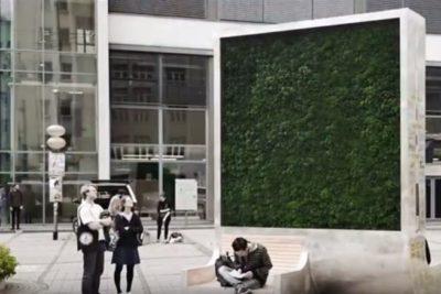 City Tree: el árbol que absorbe la contaminación de la ciudad