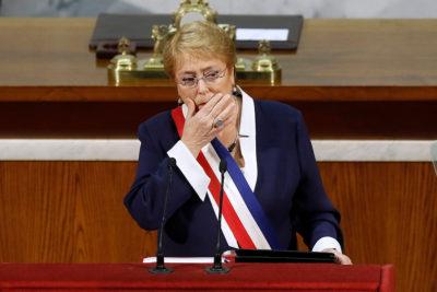 """Cuenta Pública de Bachelet no pasa la prueba para E2020: """"Dos pilares de la reforma estancados"""""""