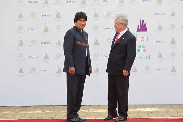 """Evo Morales le responde a Piñera y lo compara con el Rey Juan Carlos: """"Ambos responden a monarquías"""""""
