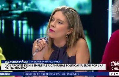 VIDEO   El tenso momento que enfrentó a Sebastián Piñera y Mónica Rincón por platas de CHV