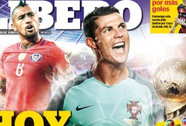 """Voltereta mundial del diario peruano que tituló """"Hoy somos Portugal"""""""