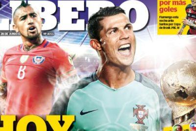 FOTO |Aunque no lo creas, esta fue la portada del principal diario deportivo de Perú