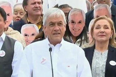 """Lo mejor del viernes: las bromas y reacciones a las """"máscaras de Sebastián Piñera"""""""