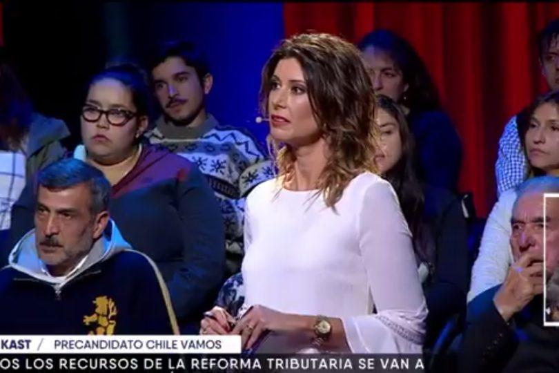 VIDEO | Felipe Kast hablaba de terminar con gratuidad hasta que Maca Pizarro preguntó cómo estudió en Harvard