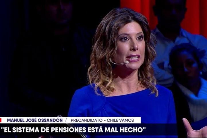 VIDEO | La pregunta sobre AFP de Maca Pizarro que Ossandón no supo contestar