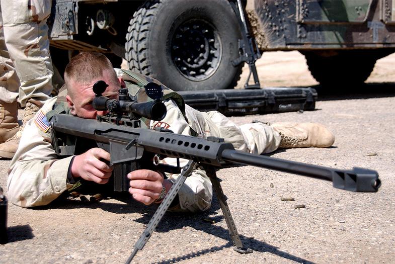Francotirador elimina a combatiente de ISIS desde 3,4 kilómetros
